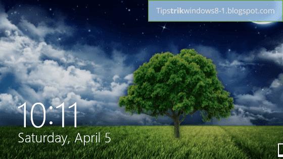 Cara Menghilangkan Lock Screen di Windows 8.1 2