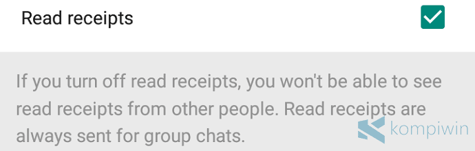 fitur read receipts whatsapp