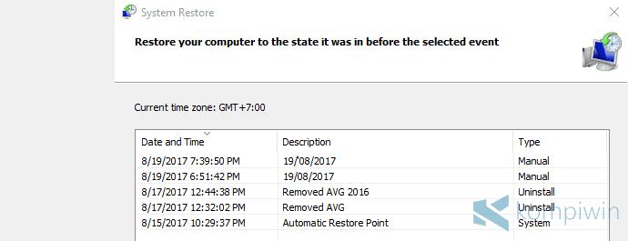 kembalikan laptop