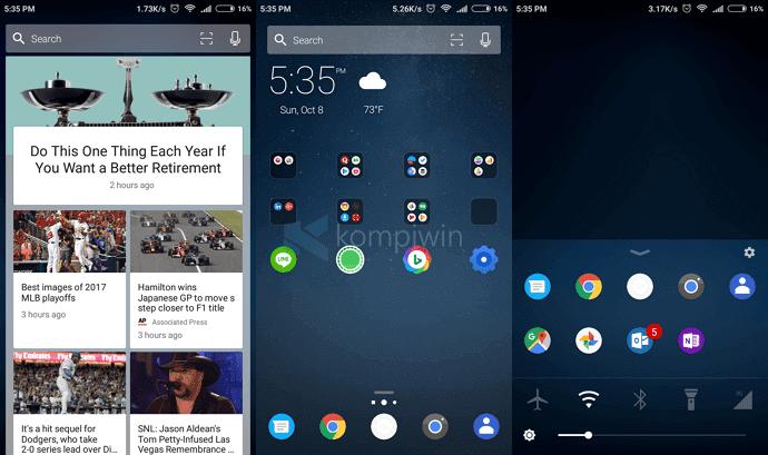 aplikasi launcher android ringan cantik