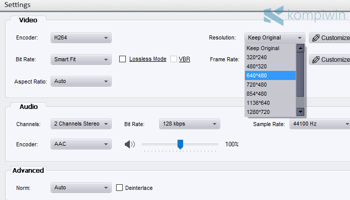 Cara Convert/Ubah Format Video Mudah di PC/Laptop 4