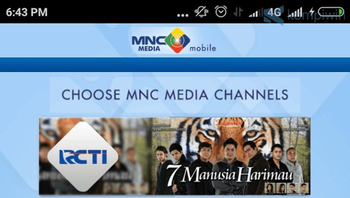 6 Aplikasi TV Online Indonesia Terbaik Android 3