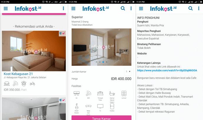 malang kost apartemen