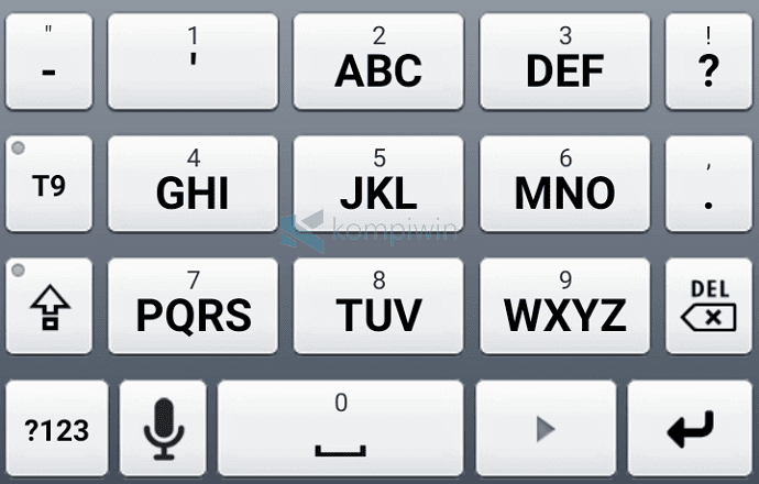 abc keyboard seperti nokia di android