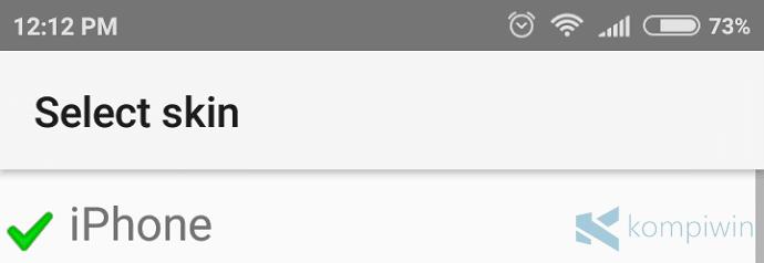 agar keyboard android mirip iphone