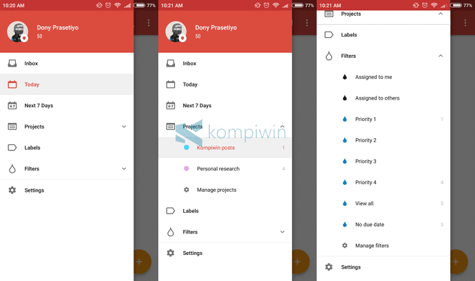 todoist aplikasi to-do terbaik di android