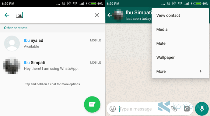 Cara Hapus Kontak Whatsapp Di Android Iphone Windows 10 Mobile