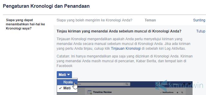 Cara Agar Teman Facebook Tidak Bisa Tag Kamu Sembarangan 3
