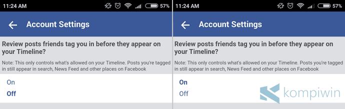 mencegah orang nge-tag di facebook