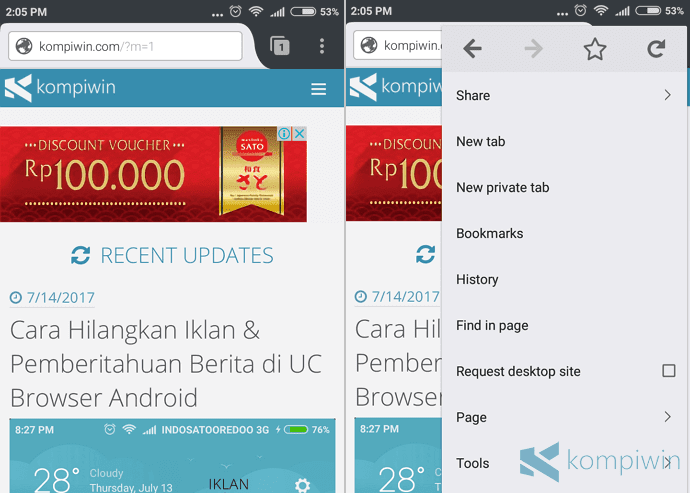 cara download add-on firefox android