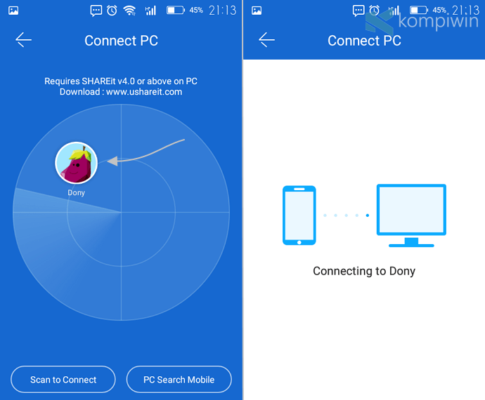 aplikasi android kirim