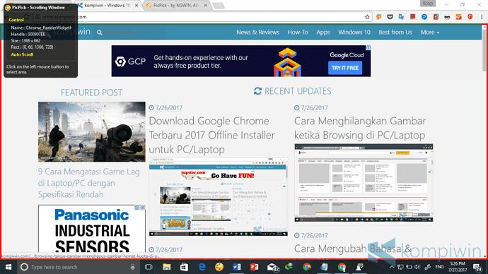 screenshot web page full