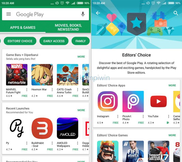 beli aplikasi dari play store android