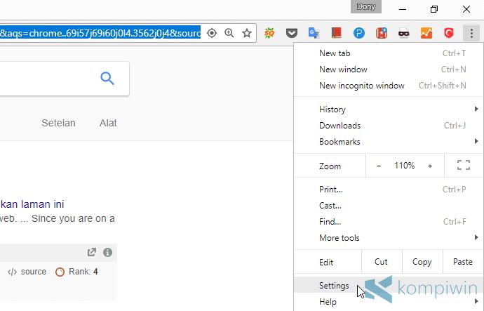 notifikasi web