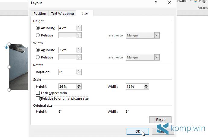 Cara Cetak Print Foto Berbagai Ukuran Di Microsoft Word