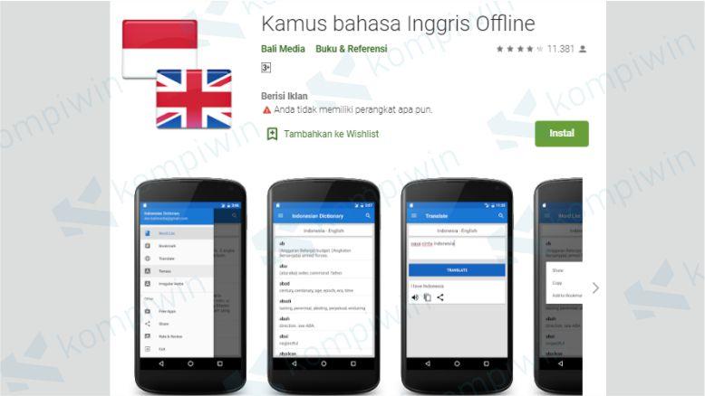 Indonesian Dictionary (Kamus bahasa Inggris Offline)